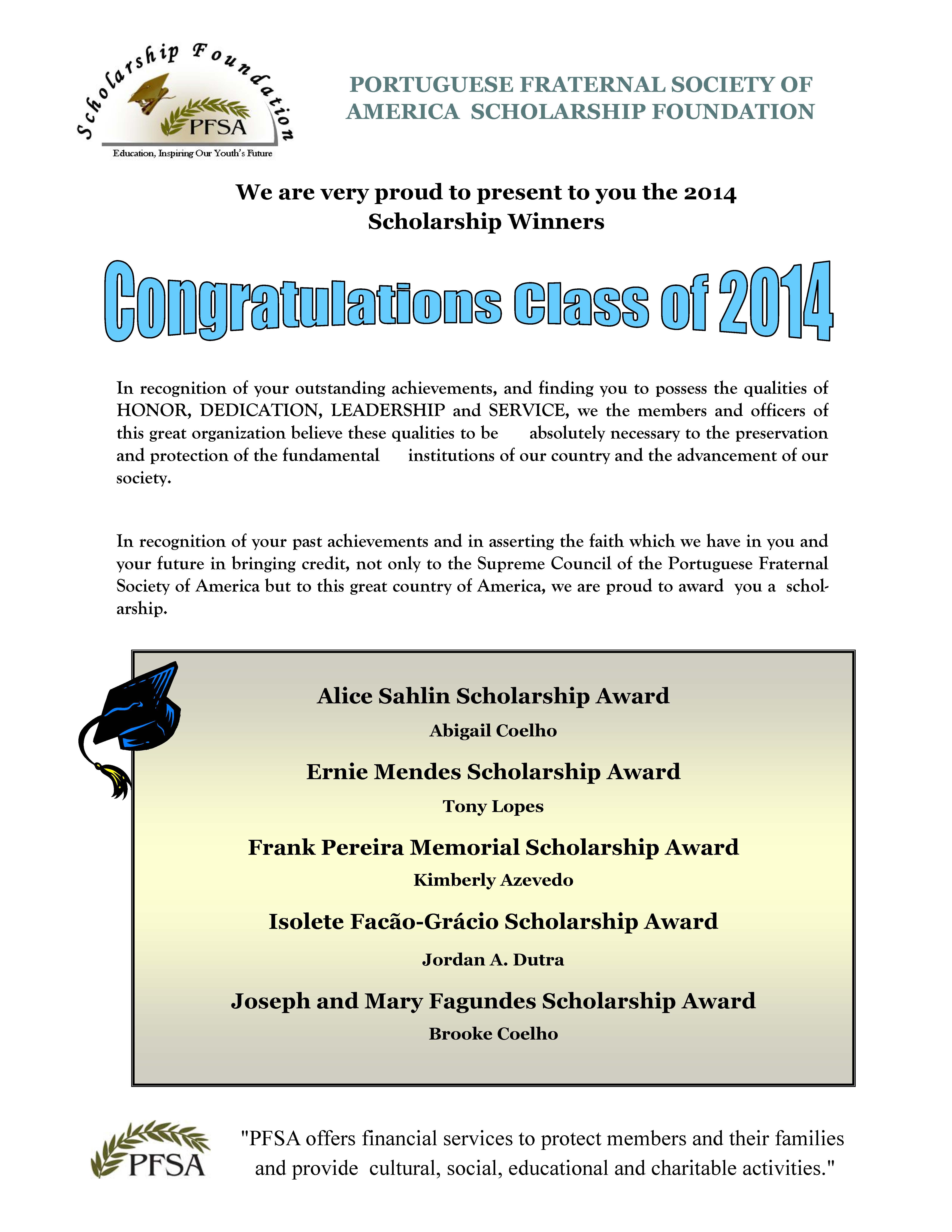 2014 PFSA Scholarship Winners_Page_1