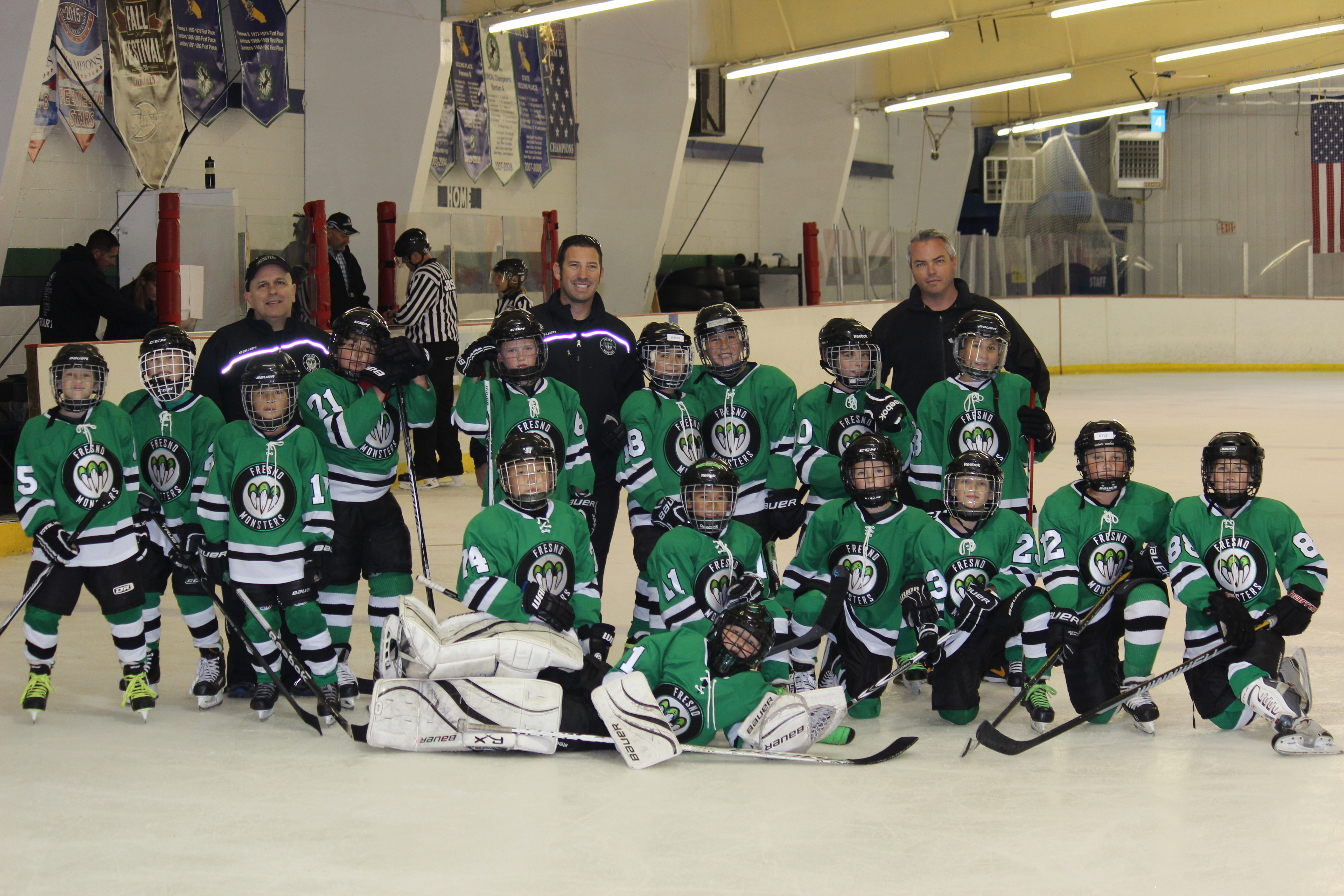 Fresno Monsters Travel Hockey Team