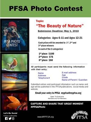 2019 PFSA Photo Contest